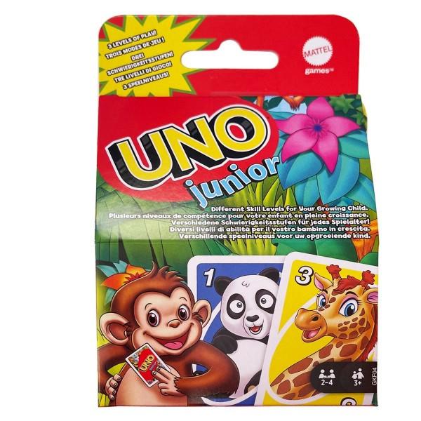 Mattel GKF04 - UNO Junior - Kartenspiel (refresh)
