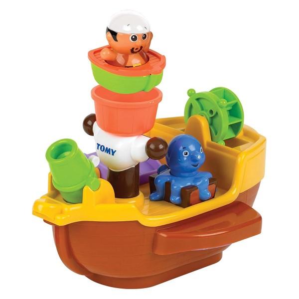 Tomy E71602C - Toomies - Badewannenspielzeug, Piratenschiff (1008.7514)
