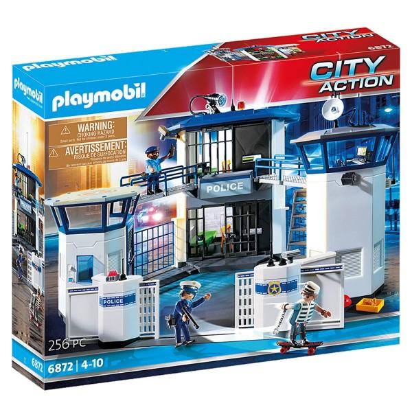 PLAYMOBIL® 6872 - City Action - Polizei Kommandozentrale mit Gefängnis