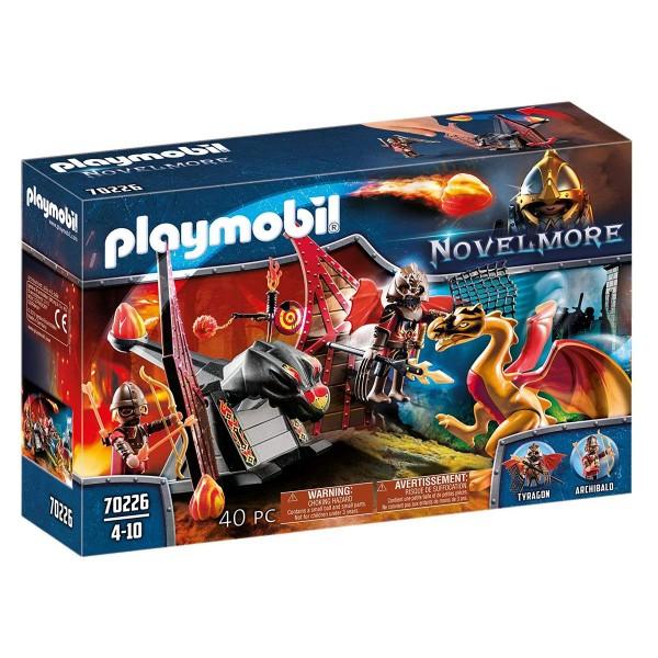 PLAYMOBIL® 70226 - Novelmore - Burnham Raiders Kampftraining des Drachen