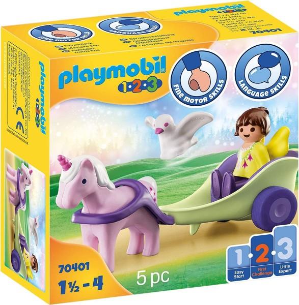 PLAYMOBIL® 70401 - 1•2•3 - Einhornkutsche mit Fee