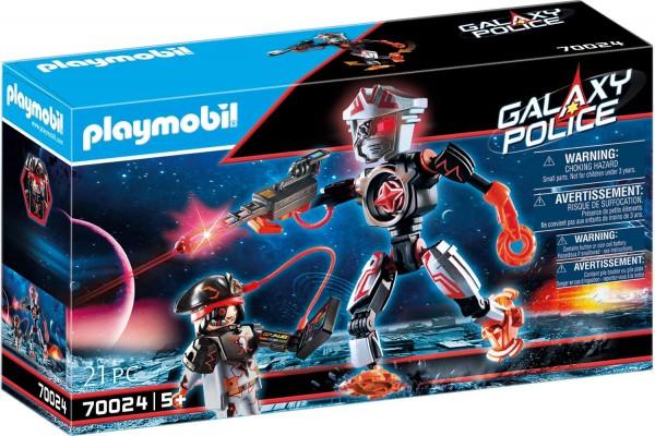 PLAYMOBIL® 70024 - Galaxy Police - Pirates-Roboter mit Lichteffekt