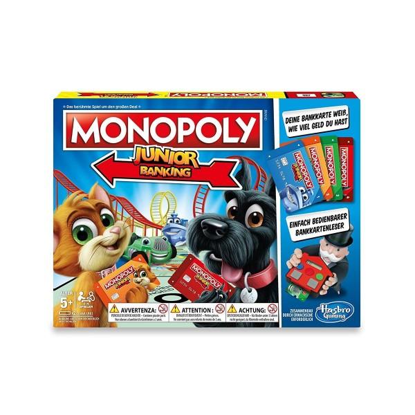 Hasbro E1842 - Monopoly - Junior Banking