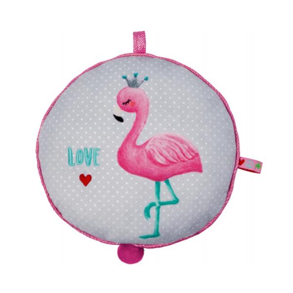 Coppenrath 16099 - Die Spiegelburg - Baby Glück - Spieluhr Flamingo