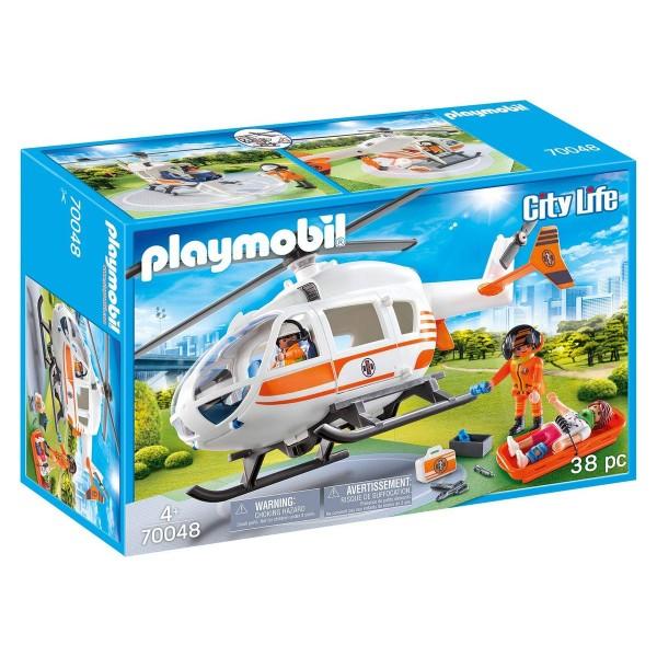 PLAYMOBIL® 70048 - City Life - Rettungshelikopter