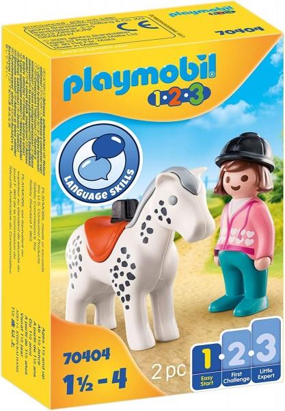 PLAYMOBIL® 70404 - 1•2•3 - Reiterin mit Pferd