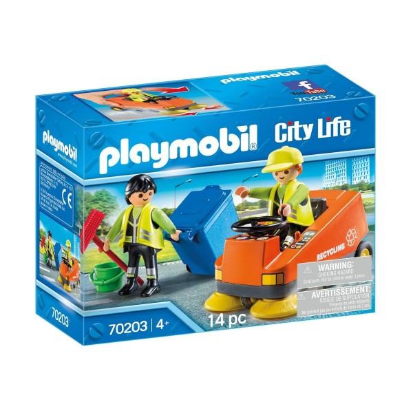 PLAYMOBIL® 70203 - City Life - Kehrmaschine