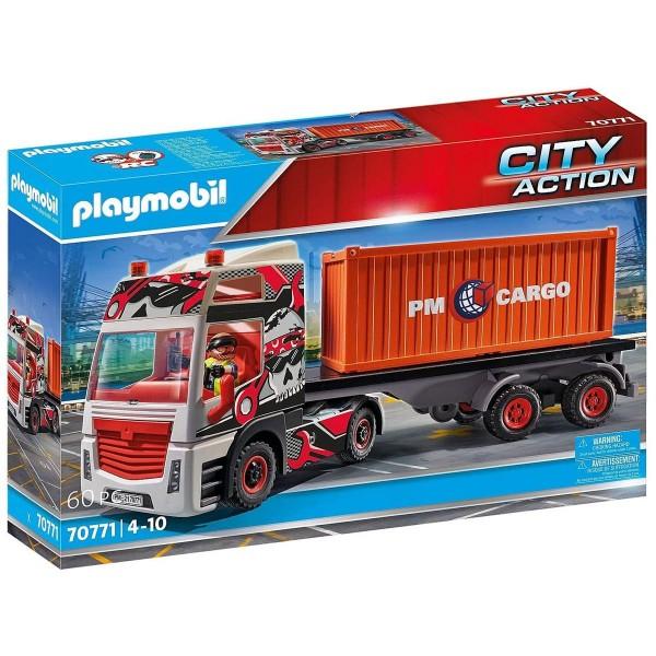 PLAYMOBIL® 70771 - City Action - LKW mit Anhänger