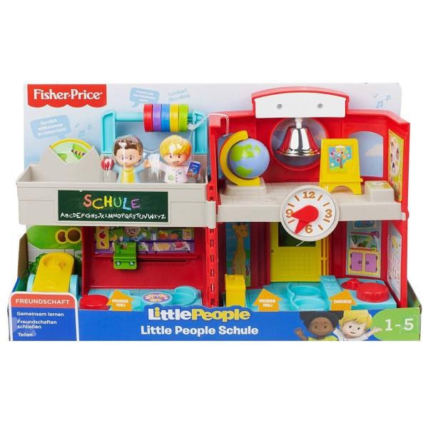 Mattel GJC09 - Fisher-Price - Little People - Schule mit 2 Figuren und Sound