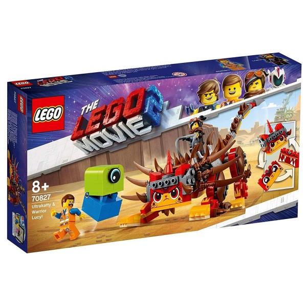 Lego 70827 - THE LEGO® MOVIE 2™ - Ultrakatty & Warrior Lucy!