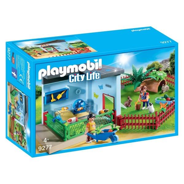 PLAYMOBIL® 9277 - City Life - Kleintierpension