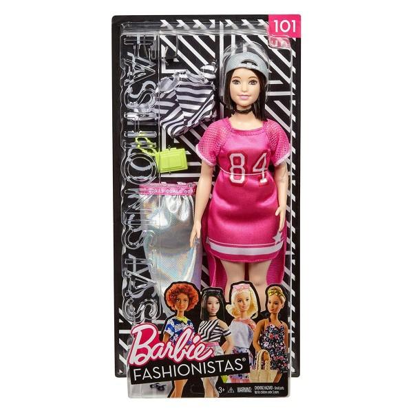 Mattel FRY81 - Barbie - Fashionistas - Puppe mit Zubehör