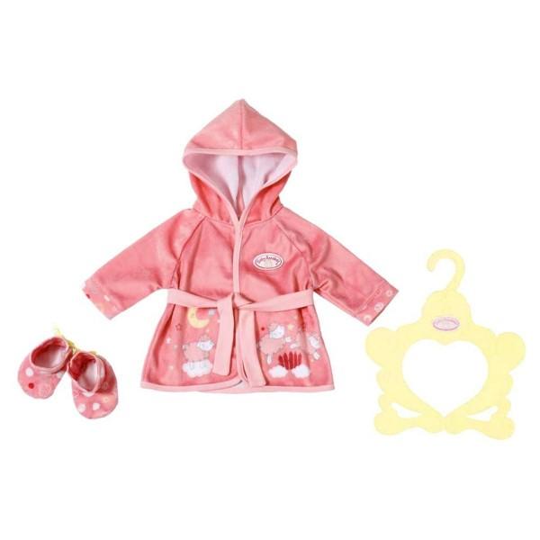 Zapf 701997 - Baby Annabell - Sweet Dreams Bademantel, 39 - 46 cm