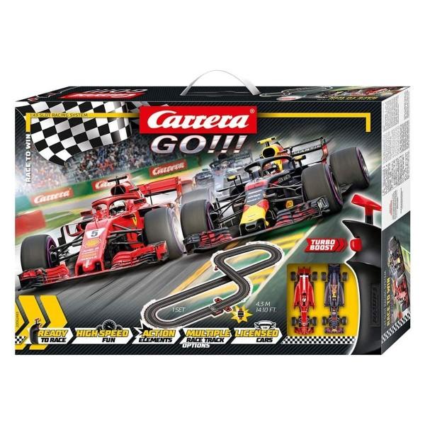 Stadlbauer 20062483 - Carrera - Go!!! - F1 Rennstrecke, 4,3 Meter inkl. 2 Fahrzeuge