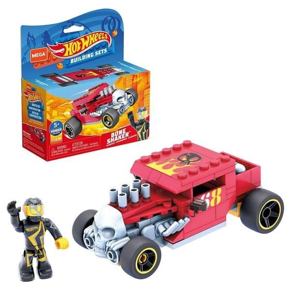 Mattel GVM29 - Hot Wheels - Mega Construx - Bausatz, Fahrzeug, 118 Teile, Bone Shaker
