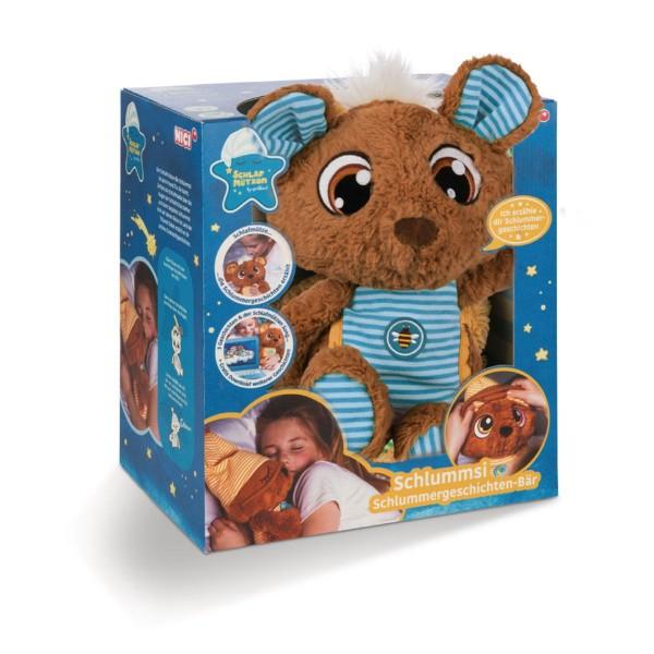 Nici 44531 - Schlummergeschichten-Bär, Schlafmützen Schlummsi