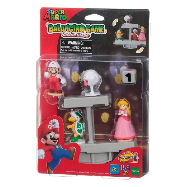Epoch 7360 - Nintendo - Super Mario - Balancing Game, Castle Stage, Burg Level
