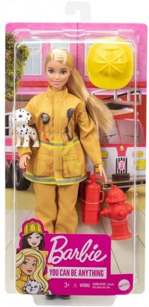 Mattel GTN83 - Barbie - You can be anything - Feuerwehrfrau