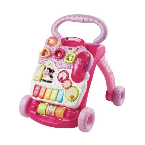 V-Tech 80-077054 2.Wahl - VTech Baby - Spiel und Laufwagen rosa