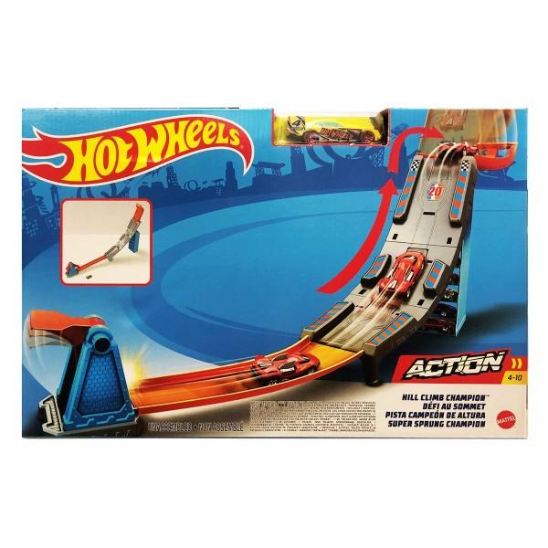 Mattel GBF83 - Hot Wheels - Super Sprung Champion, Fahrzeug Auswahl nicht möglich