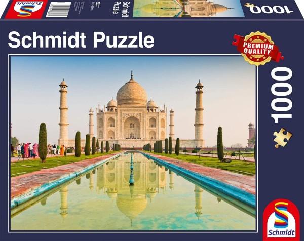 Schmidt 58337 2.Wahl - Premium Quality - Taj Mahal, Puzzle 1000 Teile
