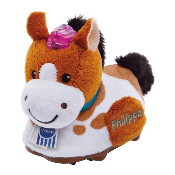V-Tech 80-501104 - Tip Tap - Baby Tiere - Plüsch Pferd, Philippa