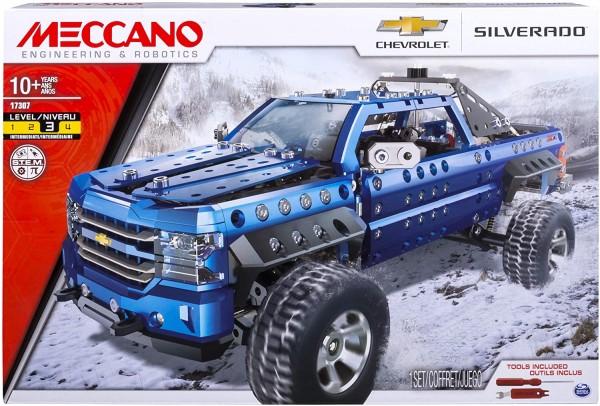 Spin Master 6038206 - Meccano - Chevrolet® Silverado™, 703 pz.