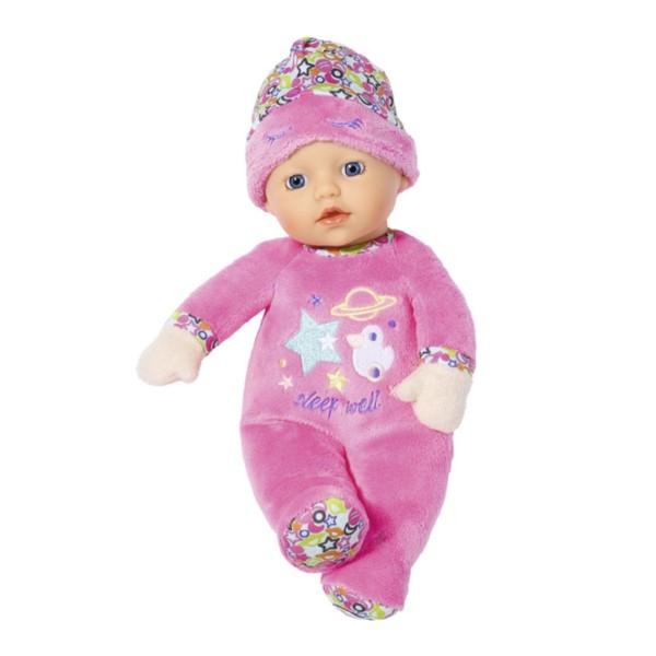 Zapf 827413 - BABY born - Puppe mit Rasselfunktion, 30 cm, Sleepy