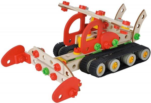 Simba 100039088 - Eichhorn - Constructor - Pistenraupe, 200 Teile