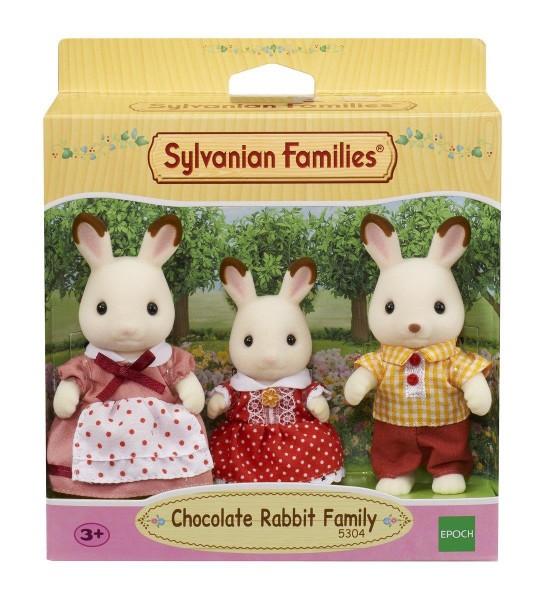 Epoch 5304 2.Wahl - Sylvanian Families - Schokoladenhasen Familie