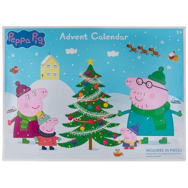 Jazwares Pep0798 - Peppa Pig - Adventskalender; Spielfiguren und Zubehör
