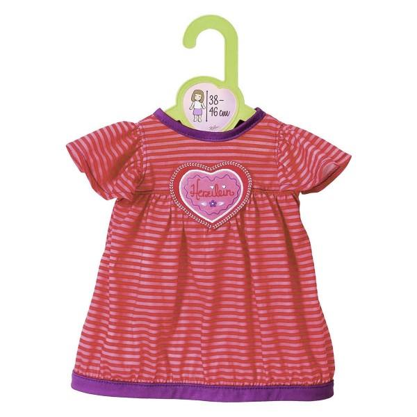 Zapf 870020 - Dolly Moda - Schlafkleid, Nachthemd, 38-46 cm