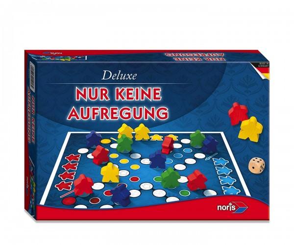 Noris 606101416 - Gesellschaftsspiel, Deluxe, Nur keine Aufregung