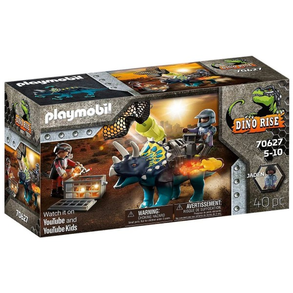 PLAYMOBIL® 70627 - Dino Rise - Triceratops: Randale um die legendären Steine