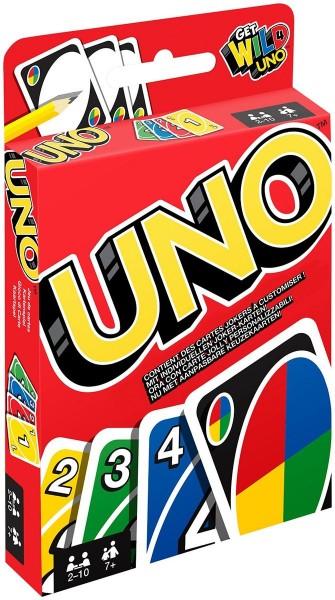 Mattel W2087-1 2.Wahl - UNO Kartenspiel