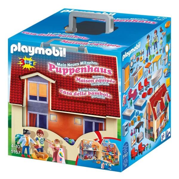 PLAYMOBIL® 5167 - Mein Mitnehm-Puppenhaus