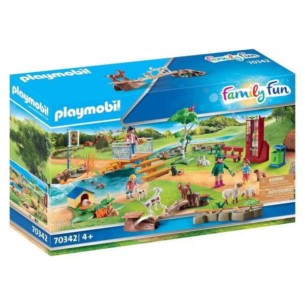 PLAYMOBIL® 70342 - Family Fun - Erlebnis-Streichelzoo
