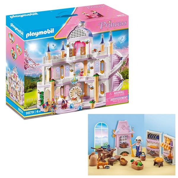 SPAR-SET 182099 - PLAYMOBIL® - Princess - Traumpalast-Set mit Schlossküche
