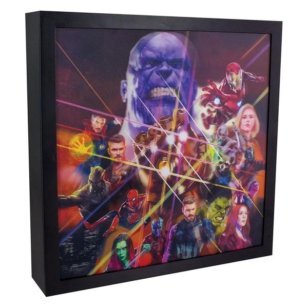 DIV 13249 2.Wahl - Marvel - Avengers Infinity War - 3D Licht