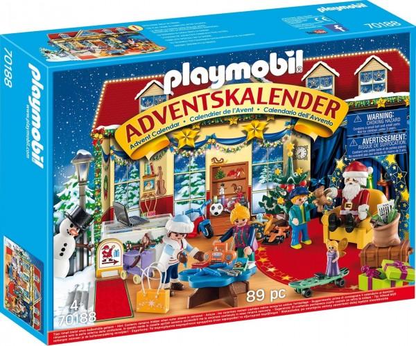 PLAYMOBIL® 70188 - Christmas - Adventskalender - Weihnachten im Spielwarengeschäft