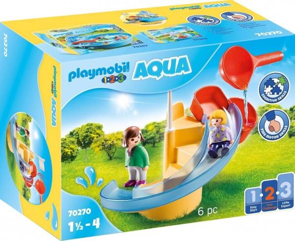 PLAYMOBIL® 70270 - 1•2•3 Aqua - Wasserrutsche