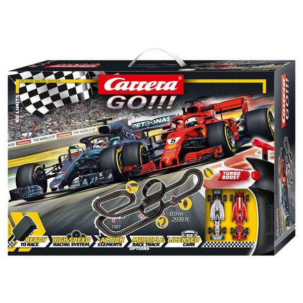 Stadlbauer 20062485 - Carrera - Ferrari - Mercedes-Benz - Go!!! Rennstrecken-Set F1; 8,9 m