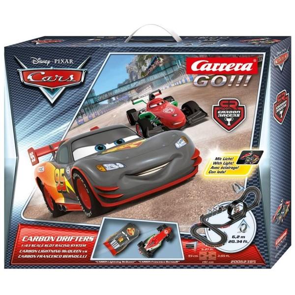 Stadlbauer 20062385 - Carrera - Go!!! - Disney Pixar Cars - Rennstrecke, 6,2 Meter mit 2 Fahrzeugen