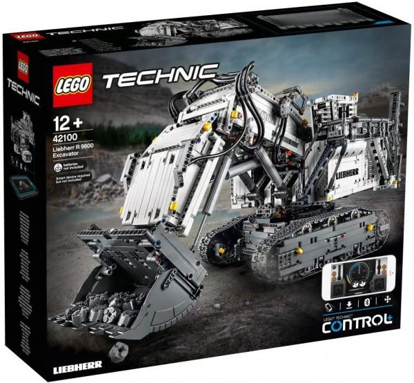 Lego 42100 - Technic - Liebherr Bagger R 9800