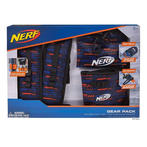 Jazwares 11522 - Nerf Elite - Mobile Gear Pack, ohne Zubehör