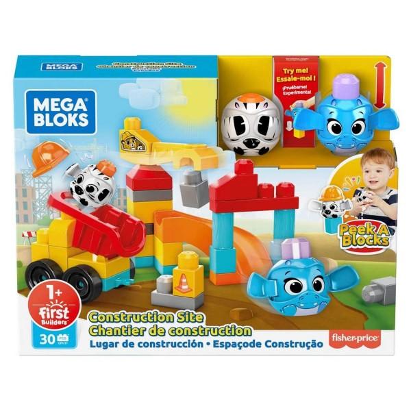 Mattel GRV37 - Mega Bloks - Guck-Guck Baustelle
