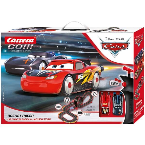 Stadlbauer 20062518 2.Wahl - Carrera Go!!! - Disney Pixar - Cars - Rennstrecke 5,3 Meter, Rocket Rac