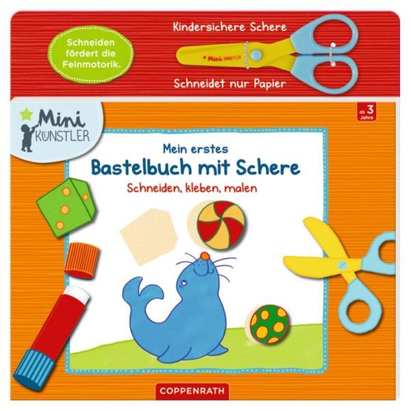 Coppenrath 67013 - Die Spiegelburg - Mini Künstler - Mein erstes Bastelbuch mit Schere