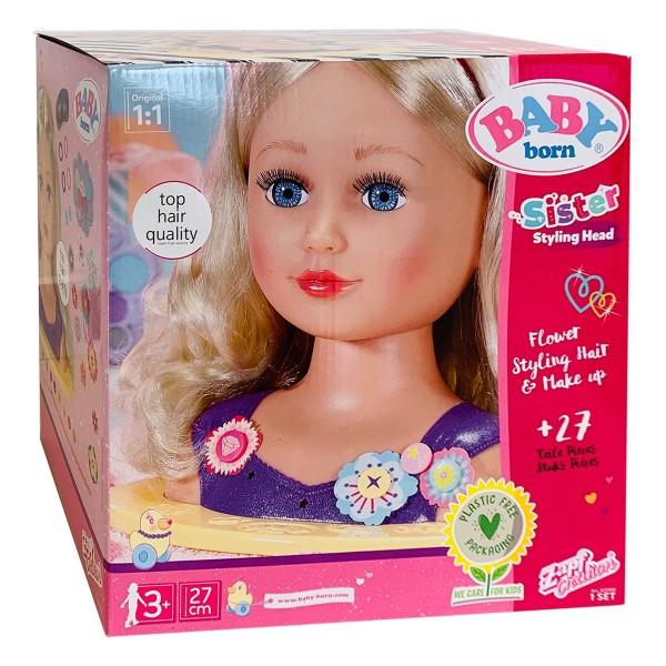 Zapf 825990 - BABY born - Sister Styling Head