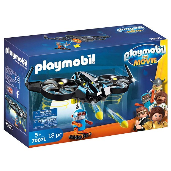PLAYMOBIL® 70071 - The Movie - Robotitron & Drohne mit Schussfunktion